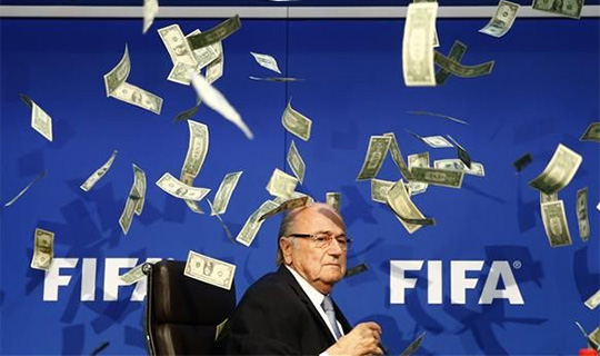 Lee Nelson Throws Money At Sepp Blatter, Awarded 2026 World Cup